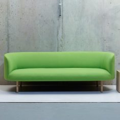 Continuousn sofa by Faudet Harrison for scp lifestyle - dezeen.com