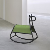 Furia rocking horse by Front for Gebrüder Thonet Vienna - dezeen.com