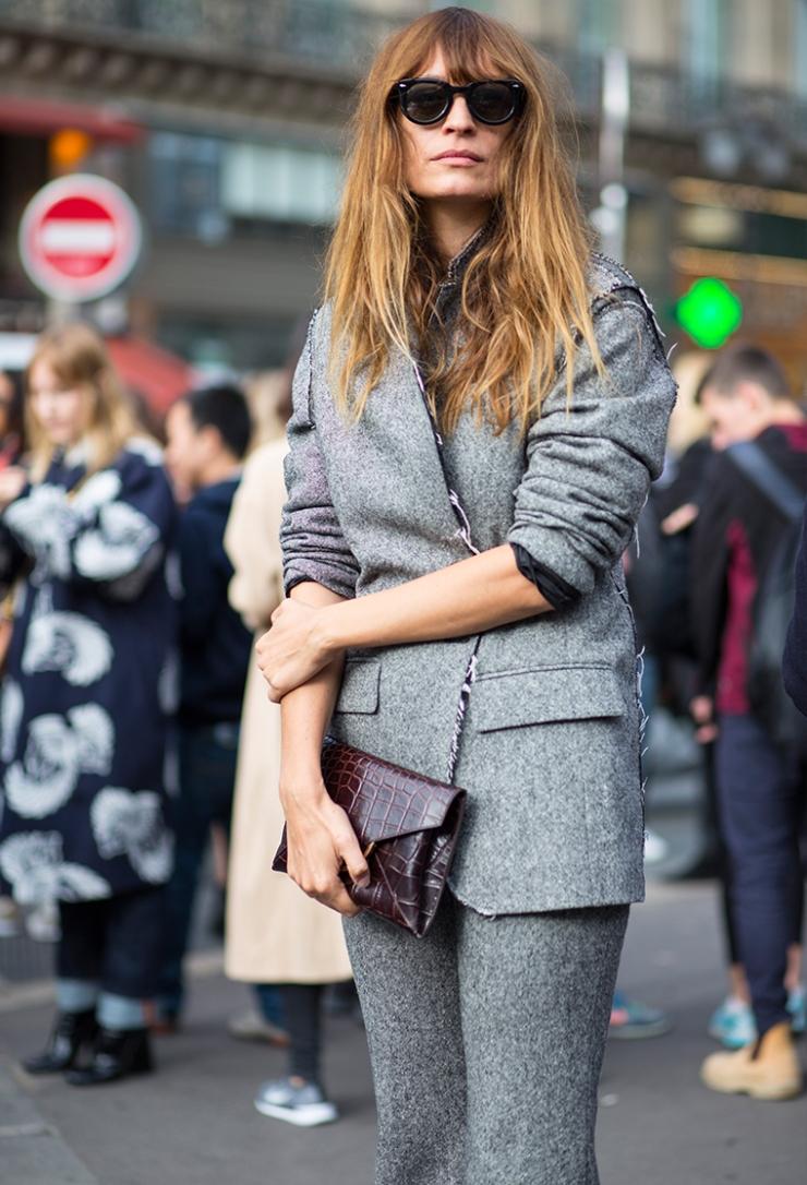 Caroline de Maigret street style - Blazers de chez Blazé