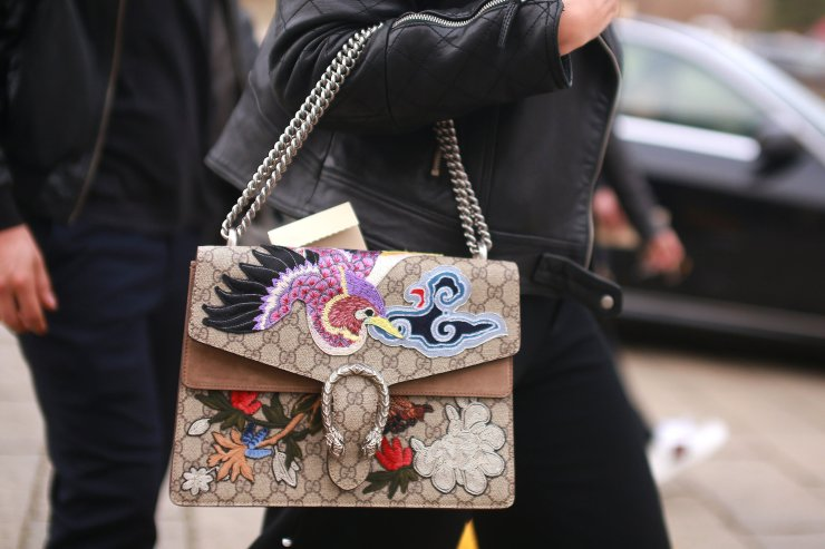 Milan street style - Gucci bag - nytimes.com