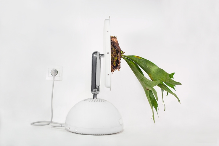 "Mr Plant - ""Plant your Mac!"" project - trendland.com"