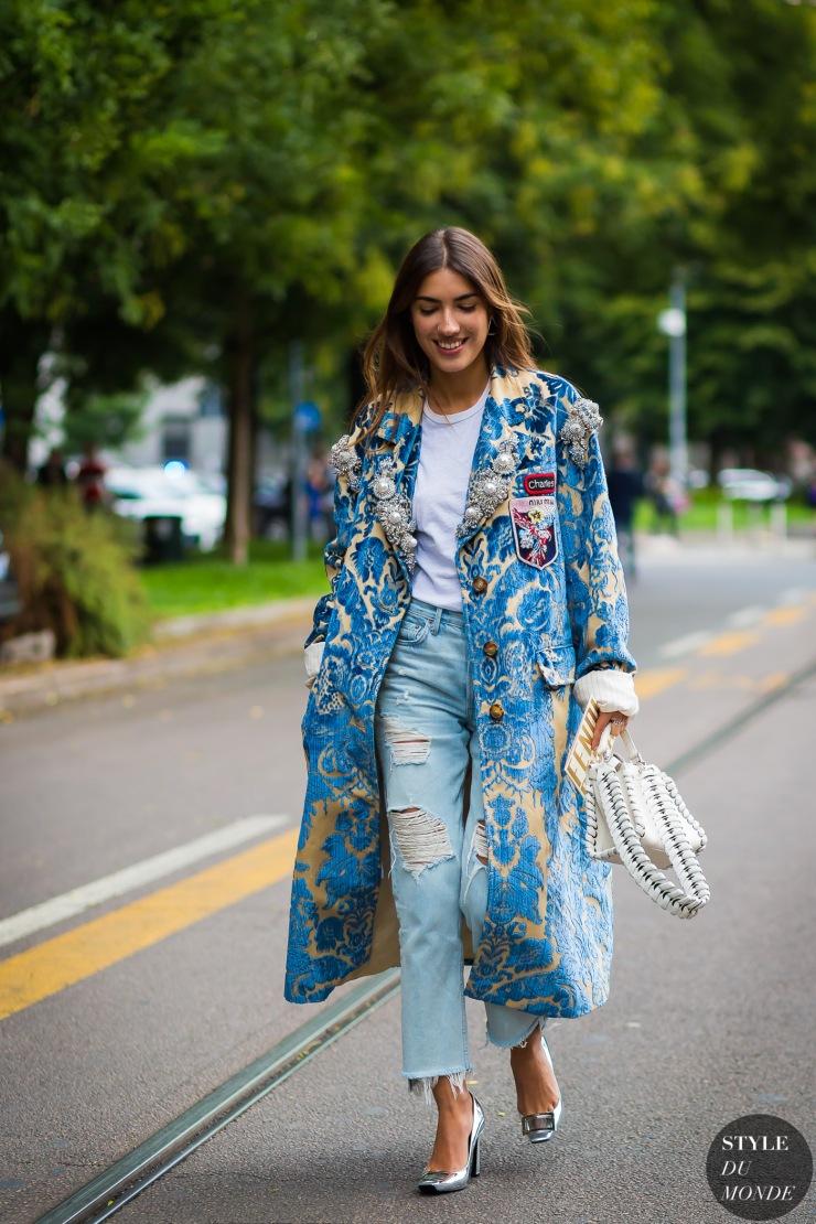 Patricia Mainfield - Milan SS 17 by styledumonde - street style - styledumonde.com