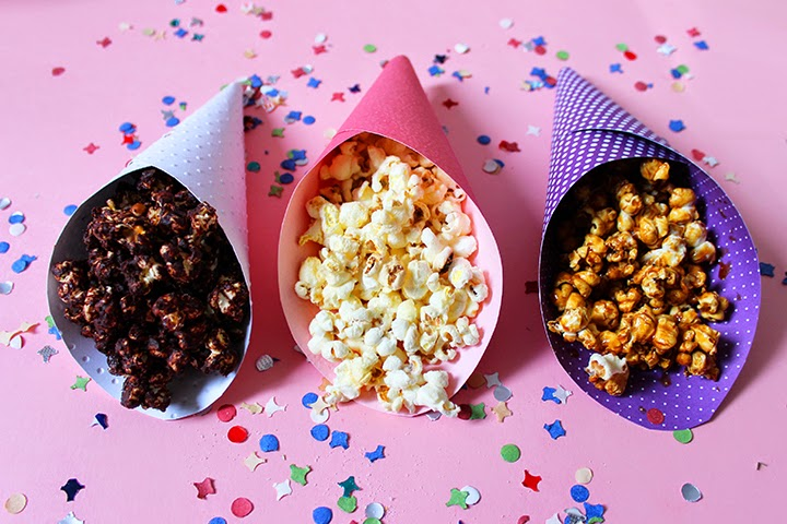 Pop corn DIY - bonjourdarling.com - Pinterest