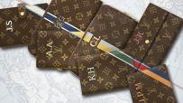Louis Vuitton - Housse de passeport personnalisée