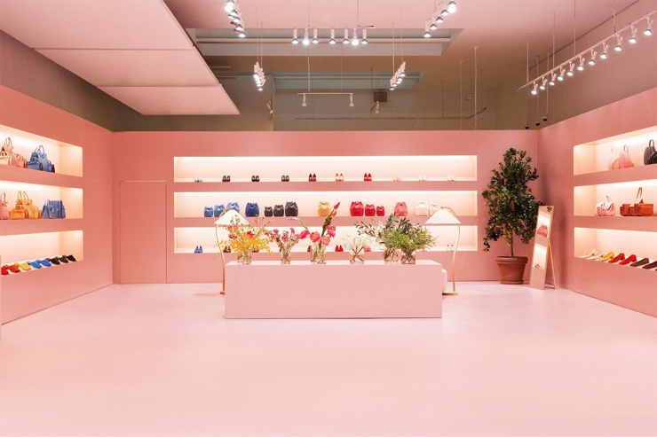 Mansur Gavriel pop up store - New York - Soho
