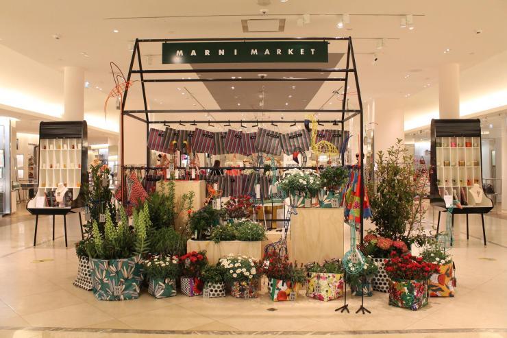 Marni Flower Market - Le Bon Marché Rive Gauche