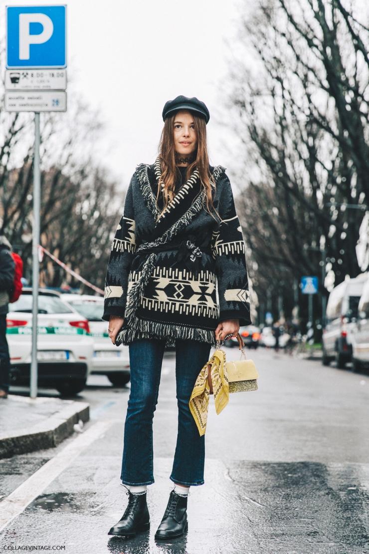 Milan FW Fall 16 - Street style - Carlotta Oddi