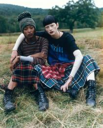 Vogue December 1992 Smells Like Teen Spirit - Photo by Steven Meisel
