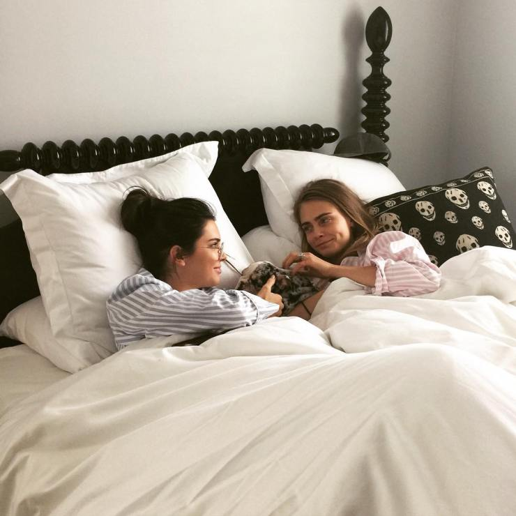 Kendall Jenner & Cara Delevingne - vogue.com