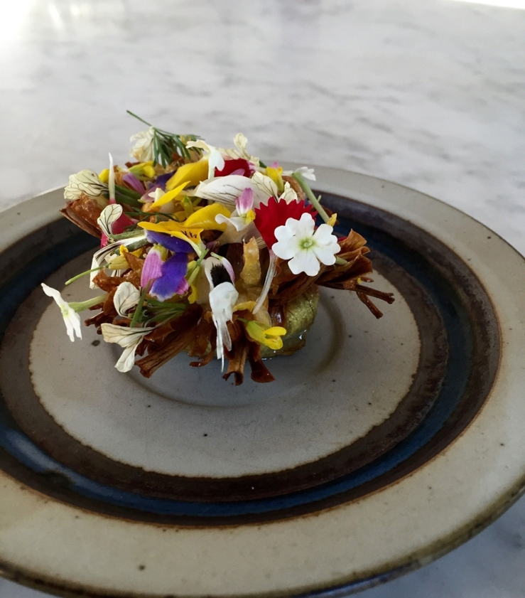 Blooming onion with blooming herbs - Flynn McGarry - luxesocietyasia.com