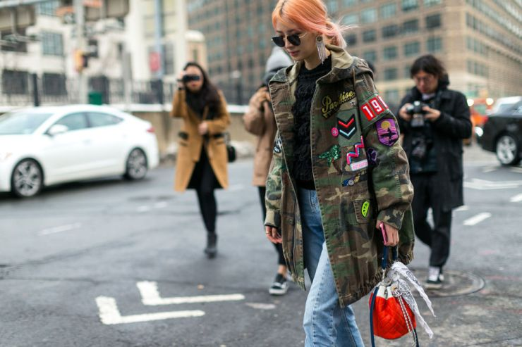 NYFW - New York City streets, shot by Diego Zuko - harpersbazaar.com