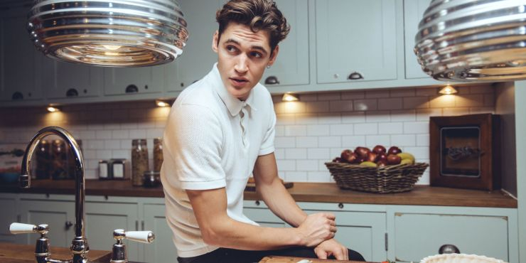 In the Kitchen with Model/Chef Isaac Carew - Harper's Bazaar