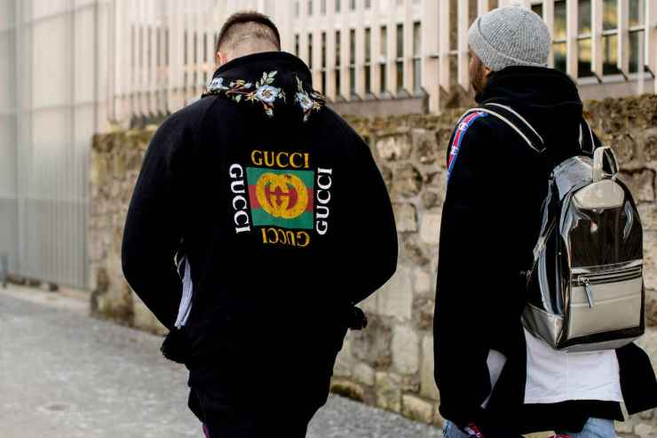Gucci hoodie - Street style - PFW