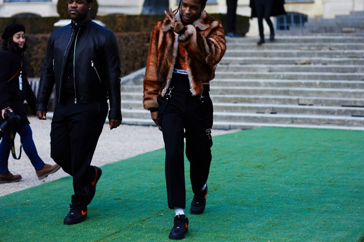 Asap Rocky - Paris Haute Couture - Fashion week - shotbygio - George Angelis