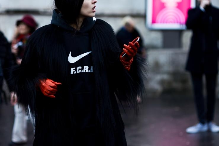 Shotbygio - George Angelis - Gilda Ambrosio - Nike hoodie - PFW - shotbygio.com