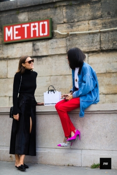 Giorgia Tordini and Gilda Ambrosio – Paris FW SS 17 - jaiperdumaveste.com