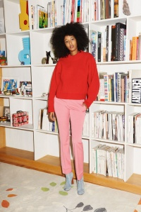 Pink & Red - Julia Sarr-Jamois - vogue.fr